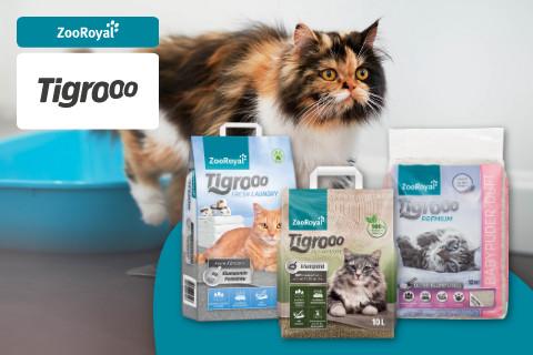 ZooRoyal Tigrooo für deine Katze entdecken