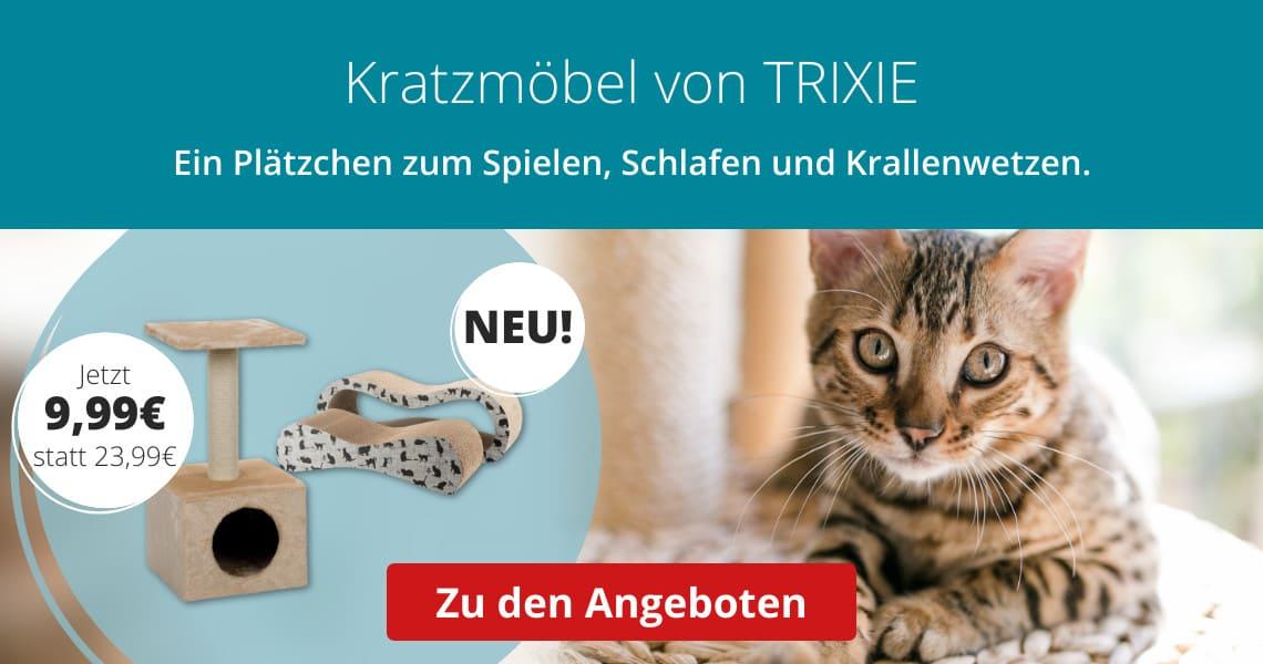 Neue Kratzmöbel von Trixie zum Einführungspreis