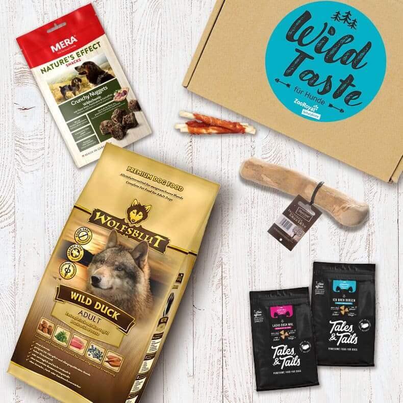 Wild Taste Box für Hunde