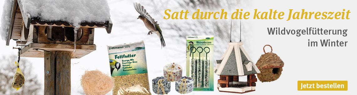 Wintervorbereitung für Wildvögel