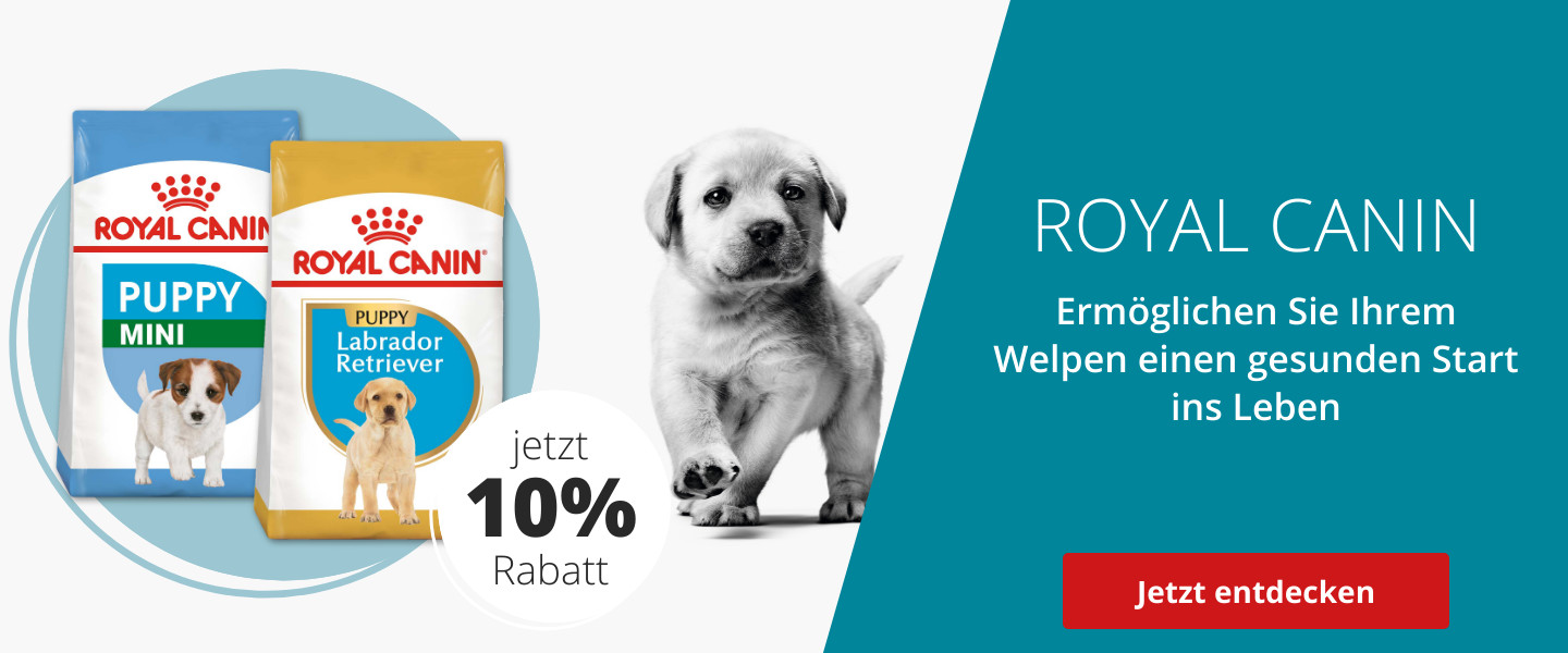 10% auf Royal Canin Puppy