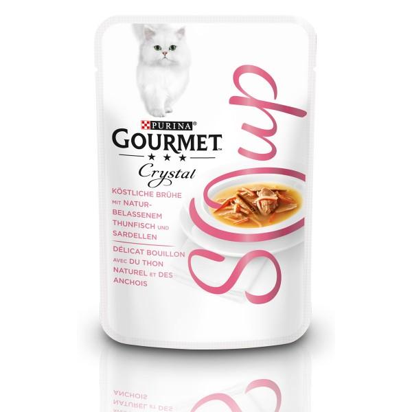 GOURMET Crystal Soup Köstliche Brühe mit Thunfisch und Sardellen