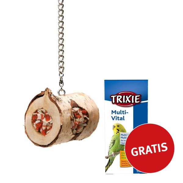 JR Farm Birds Holzrolle PLUS Trixie multi vital...