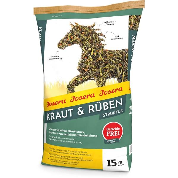Josera Kraut & Rüben Strukturmüsli 15kg