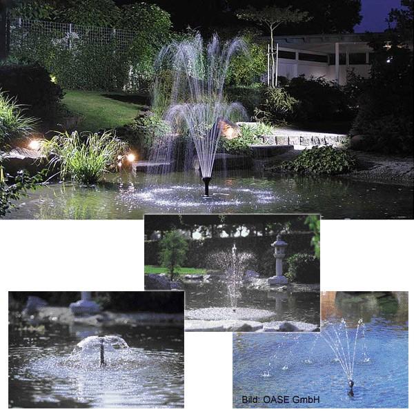 Oase Wasserspielpumpe Aquarius Fountain Set 4000 - 12000