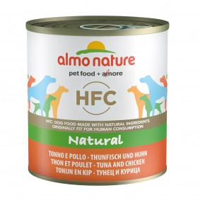 Almo Nature HFC Natural Dog tuňák akuřecí maso