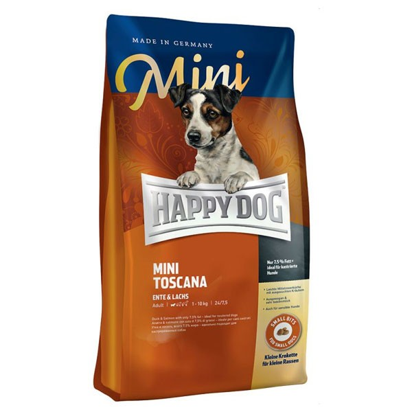 Happy Dog Hundefutter Mini Toscana