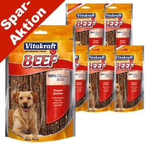 Vitakraft Hundesnack Beef Pansenstreifen 5x80g + 1x80g gratis