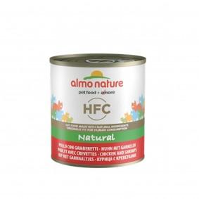Almo Nature HFC Natural Cat Huhn und Garnelen