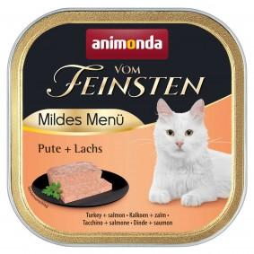 Animonda Vom Feinsten Adult Mildes Menü Pute + Lachs
