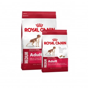 Royal Canin Medium Adult 15kg+4kg gratis