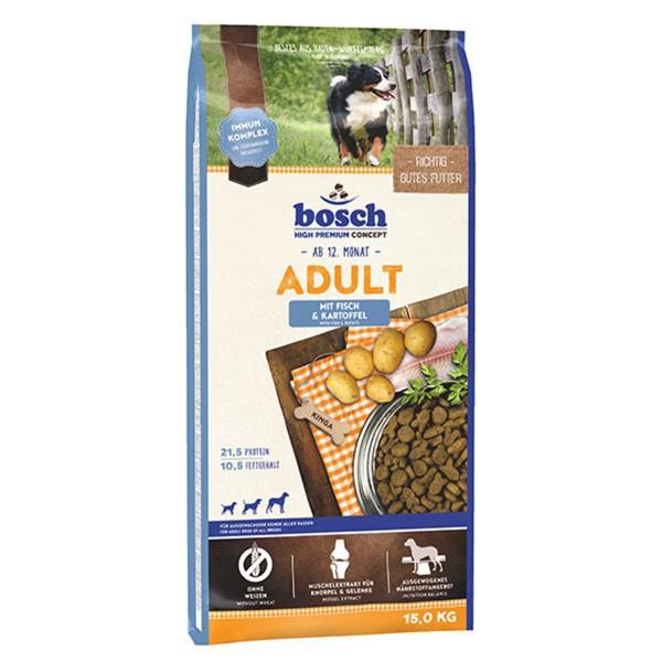 Bosch Hundefutter Adult Fisch & Kartoffel - 15kg