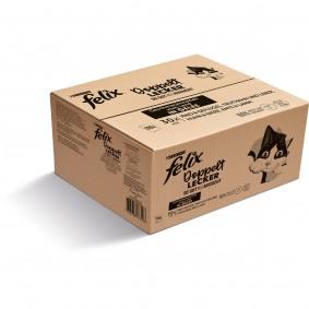 FELIX Doppelt Lecker in Gelee Geschmacksvielfalt vom Land 120x85g
