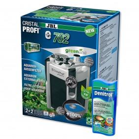 JBL CristalProfi e702 greenline + Denitrol 250ml gratis