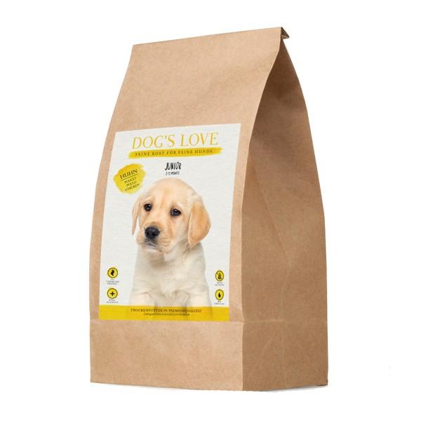 Dog's Love Junior Huhn mit Süßkartoffel und Karotte