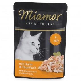 Miamor Feine Filets Standbeutel Huhn und Thunfisch