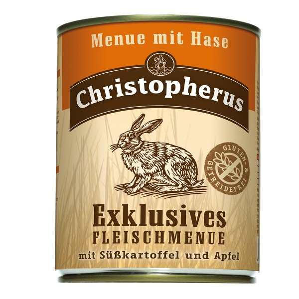 Christopherus Exklusives Fleischmenü Hase