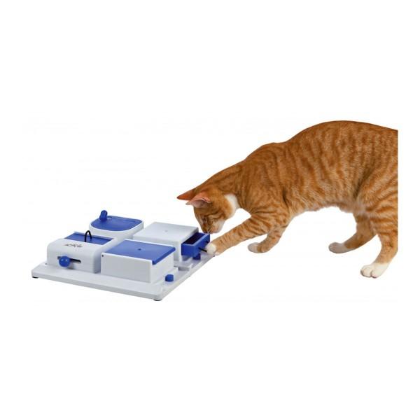 Trixie Cat Activity Intelligenzspielzeug Poker Box