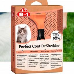 8in1 Unterfellbürste Perfect Coat DeShedder Katze