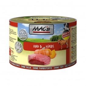 MAC´s Dog Rind & Kürbis