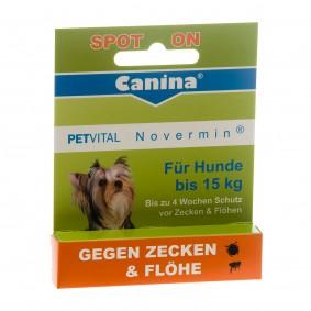 Canina PETVITAL Novermin für kleine Hunde 2ml