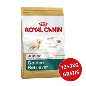 Royal Canin Golden Retriever Junior 12kg+3kg Gratis!
