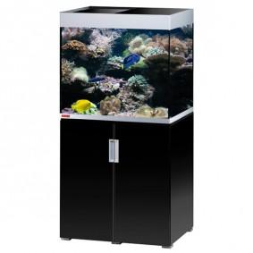 EHEIM incpiria marine 200 mit T5 Beleuchtung schwarz hochglanz/silbermetallic