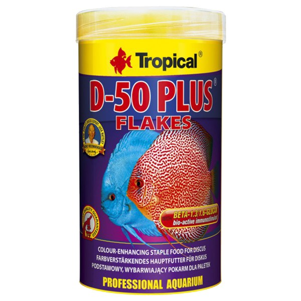 Tropical Fischfutter D-50 Plus Flakes