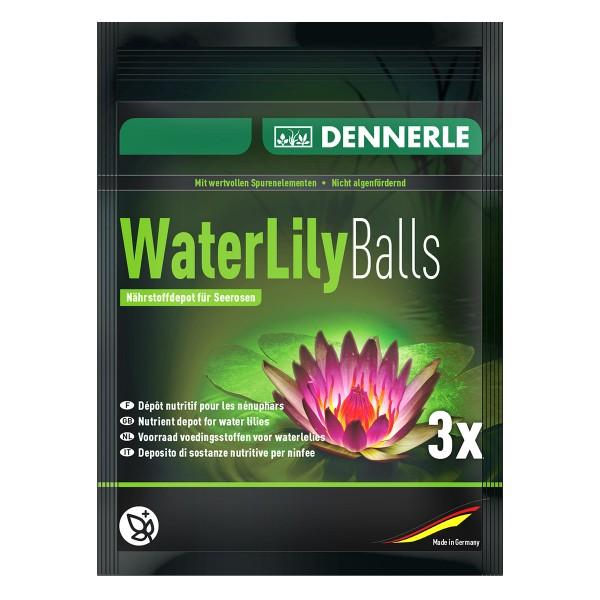Dennerle Pflanzenwachstumshilfe Water Lily Balls 3x
