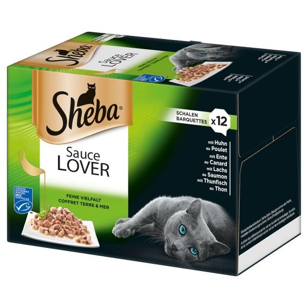 Sheba Sauce Lover Schale Multipack - 96x85g