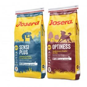 Josera Mixpaket SensiPlus + Optiness 2x15kg