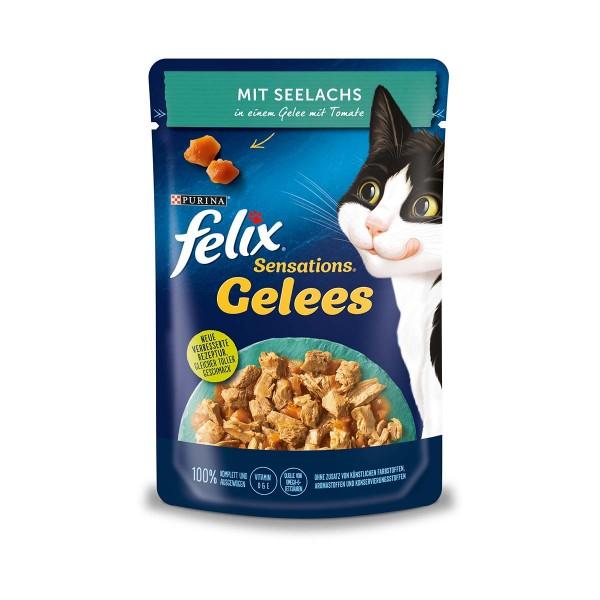FELIX Sensations Gelees mit Seelachs & Tomate