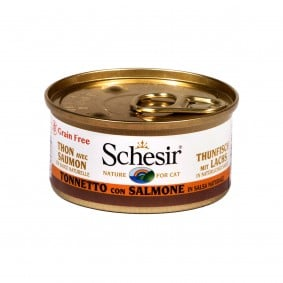 Schesir Cat Natural Sauce Thunfisch-Lachs
