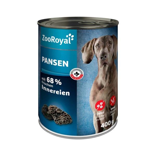 ZooRoyal Hunde-Nassfutter Pansen