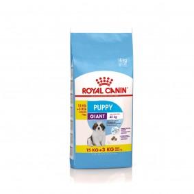 ROYAL CANIN GIANT Puppy Trockenfutter für Welpen sehr großer Rassen 15+3kg OF