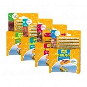 Tetra Probierpaket Fresh Delica Brine Shrimps + Daphnien + Krill + Mückenlarven 48g