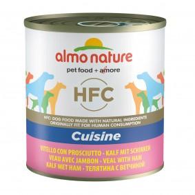 Almo Nature HFC Cuisine Dog telecí maso se šunkou