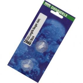 Dennerle Longlife Sauger klein transparent 2 Stück