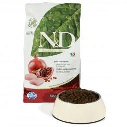 N&D Katzenfutter Huhn&Granatapfel Adult getreidefrei