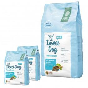 Green Petfood InsectDog hypoallergen 10kg + 2x900g gratis