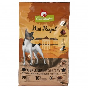 GranataPet Mini Royal Adult Gefügel 1kg