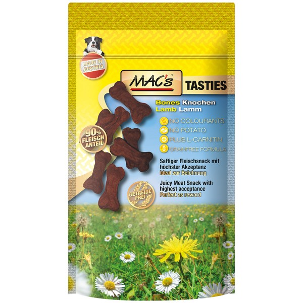 MAC's Hundesnack Tasties Bones 4x60g
