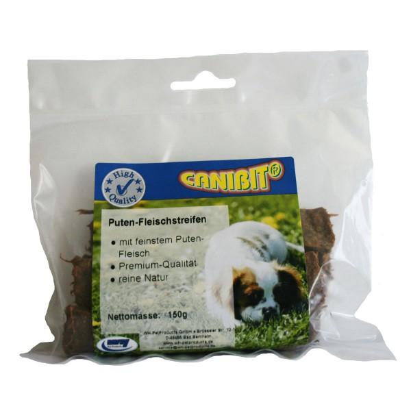 Canibit Hundesnack Puten-Fleischstreifen 150g