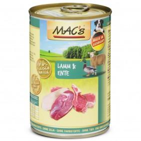 MAC's Dog Hundefutter Lamm & Ente