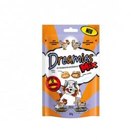 Dreamies Snack pour chats - Mélange de poulet et de canard 6x800g