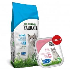 Yarrah Bio Fisch 800g + Yarrah Bio Pate Lachs 100g gratis