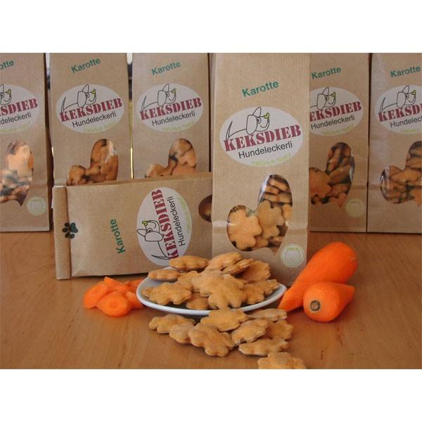 keksdieb Hundekeks Karotten Knusperlis 100g