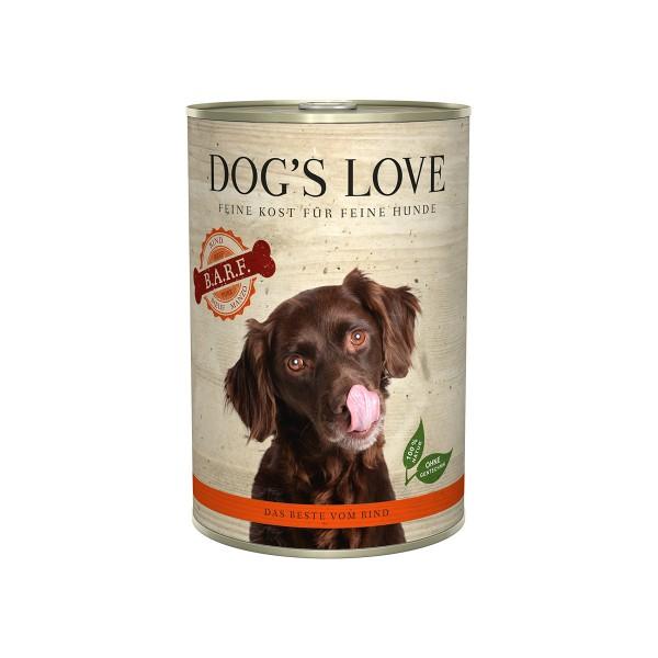 Dog's Love B.A.R.F Rind Pur
