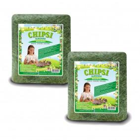Chipsi Kleintierheu Sunshine Wiesenheu 2x1kg gratis