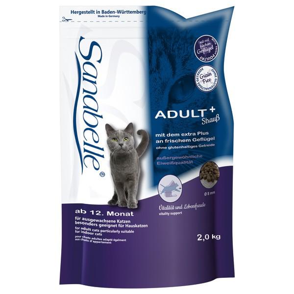 Sanabelle Adult Katzen-Trockenfutter mit zartem Strauß